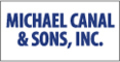 Michael cancel & sons a retail lawnmower repair shop logo accepts credit cards through the new verifone vx520 with vx805 pinpad mer